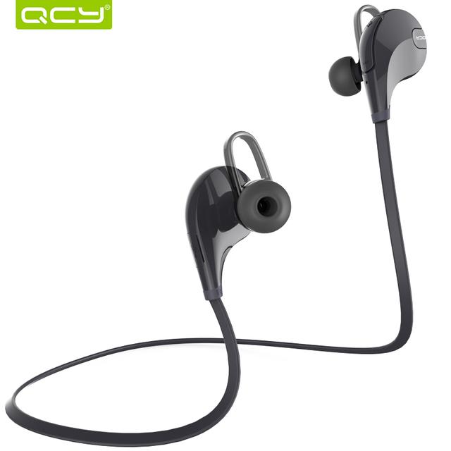 Qcy qy7 deportes wireless bluetooth 4.1 edr auriculares estéreo de auriculares con el mic llamadas de auriculares para iphone 7 teléfono android