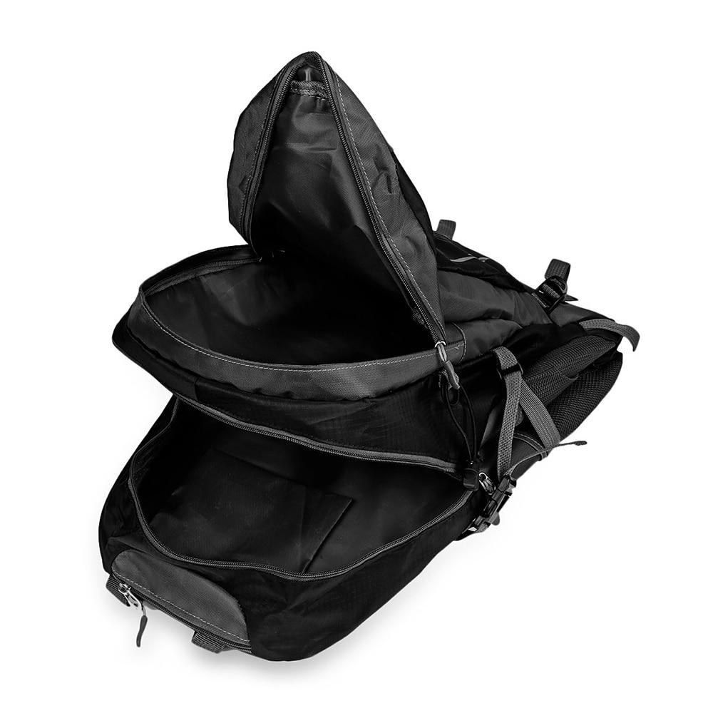 Zaino Cavaliere Sacchetto All'aperto All'acqua Necessità Da Resistente Tessuto Di Escursionismo Black Gratuito Viaggio qqZwt4