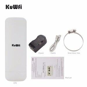 Image 1 - Km gama 3 Kuwfi 300Mbps Wi fi CPE Roteador Sem Fio 2.4G Ponto de Acesso Repetidor Extender Ponte Para Câmera LED exibir Fora