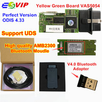 2018 Newest Green PCB VAS5054 ODIS V4 33 With Original OKI Full Chip Bluetooth 4 0
