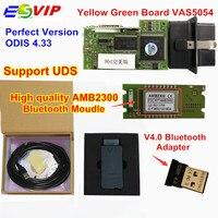 2018 Newest Green PCB VAS5054 ODIS V4 33 With Original OKI Full Chip Bluetooth 4 0