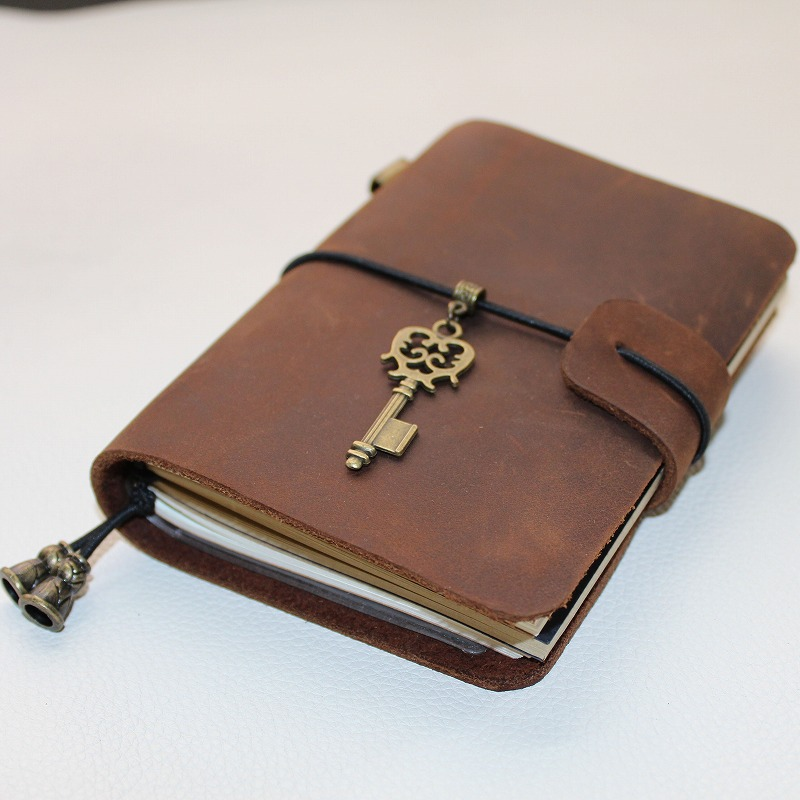 New handmade Vintage Diary Notebook Journal Blank Leather Cover Diary genuine leather  travel diary D0407 интегральная микросхема hifi remote volume control preamp
