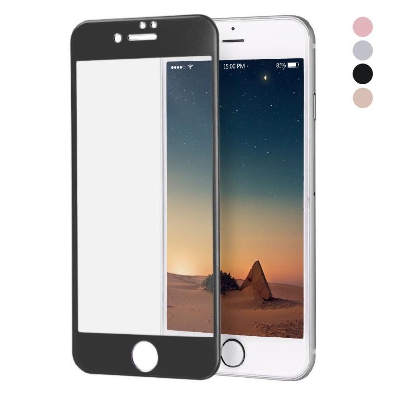 <font><b>HAT</b></font> <font><b>PRINCE</b></font> for iPhone 7 <font><b>Glass</b></font> <font><b>Film</b></font> 3D <font><b>Curved</b></font> Full Size Titanium Alloy <font><b>Tempered</b></font> <font><b>Glass</b></font> <font><b>Screen</b></font> Protector 0.26mm for iPhone7