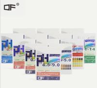 50pack/lot Alkaline pH Test paper Strips Indicator Litmus Kit Testing for body level Urine & Saliva PH4.5 9.0 (100Pcs/Pack)