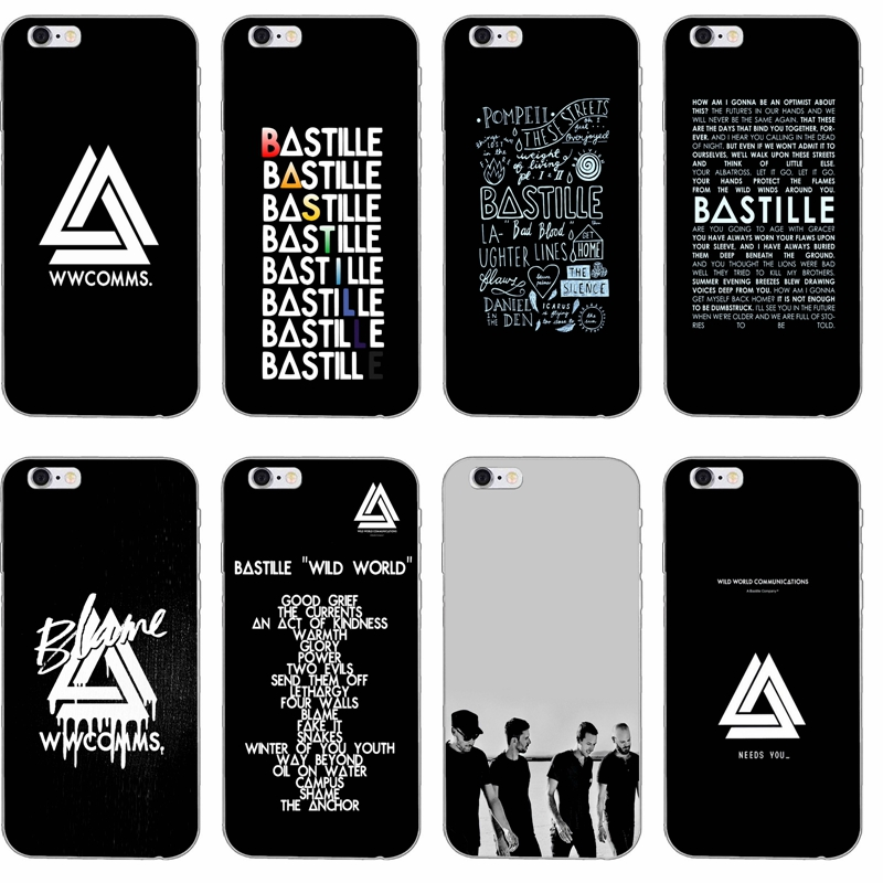 Cases, Covers & Skins Cell Phones & Accessories Active Rock Band Indie Concert Metal Clear Phone Case Cover Fits Iphone 5 6 7 8 X