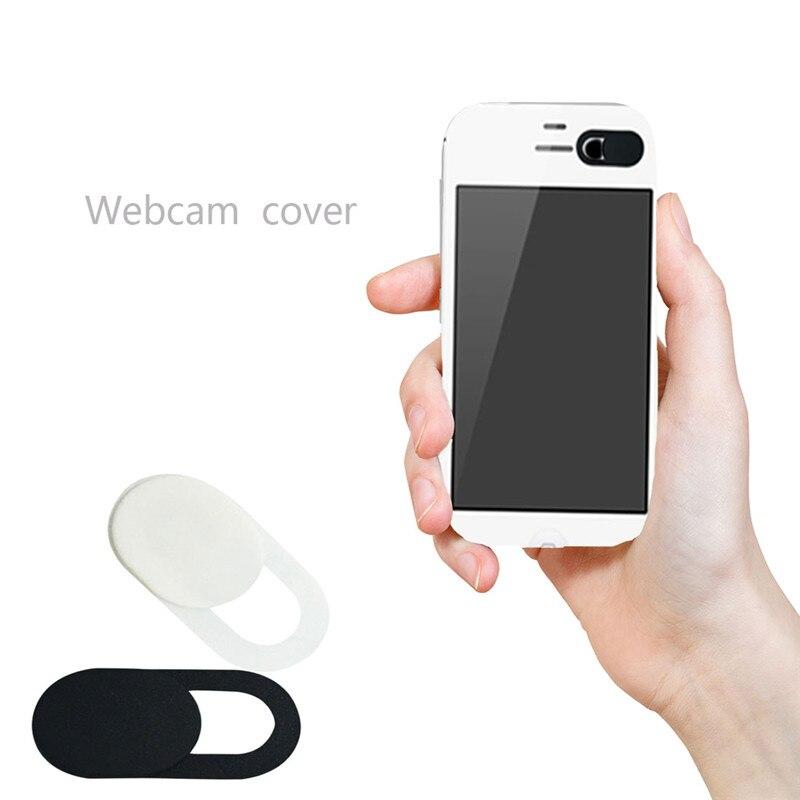 Universal Ultra Thin Webcam Cover Shutter Magnet Slider Plastic Camera Cover For laptop