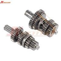 Lifan 125 125CC Gear Box horizontal engine main countershaft gear teeth Lifan engine parts 125LF08