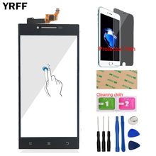 YRFF 5.0 For Lenovo P70 P 70 Touch Digitizer Screen Front Glass Phone Part Smartphone Panel Repair Tools Protector Film Adhesive
