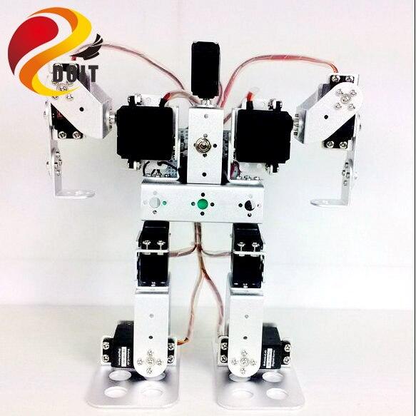 Original DOIT 9 DOF Robot Arm Mechanical Manipulator Swivel Rotating Clamp Robotic Structure Full Set Humanoid Robot цена