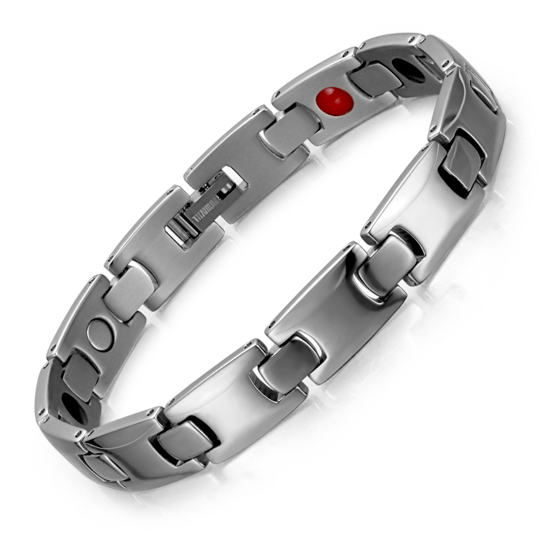 Jewelry Cross-border Explosions Titanium Germanite Bracelet European and American Fashion Magnet