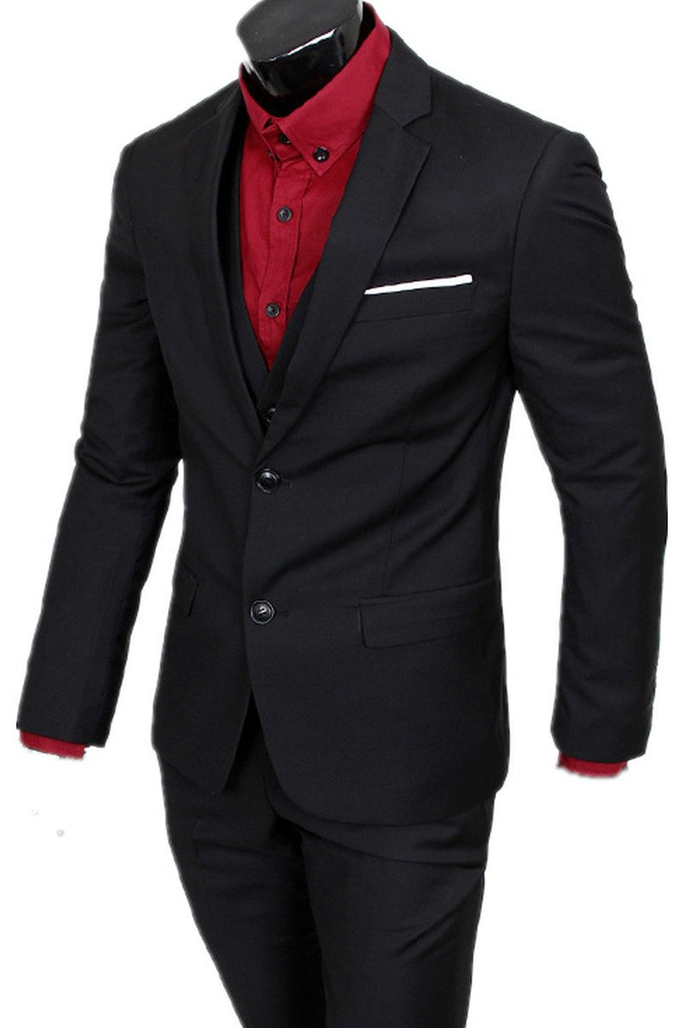 Top Selling custom made Men's Casual dress Slim Fit Suit Men's 2 ...