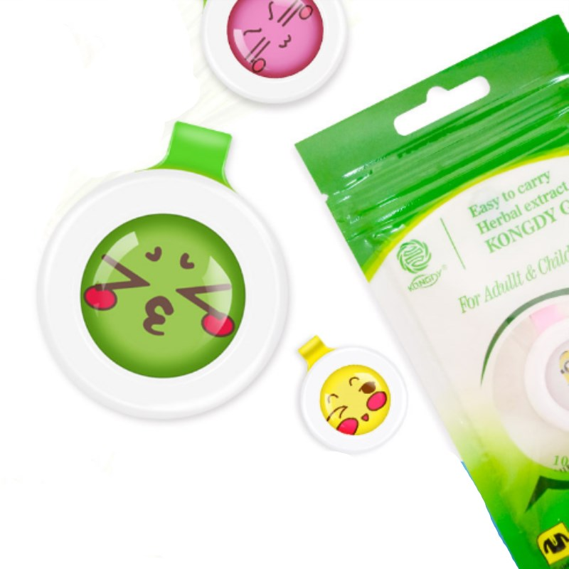 10 Pcs Summer Mosquito Buckle Mosquito Repellent Button Baby Kids Buckle Outdoor Anti-mosquito Repellent Kids Bag Collar Buckle