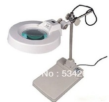 5D 125mm Folder Desktop Loupe with Light and stretchable