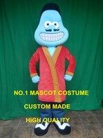 Blue Stem Cell Mascot Costume custommizable Cartoon cell Theme Anime Costume Costumes Carnival Fancy Dress Kits 2424