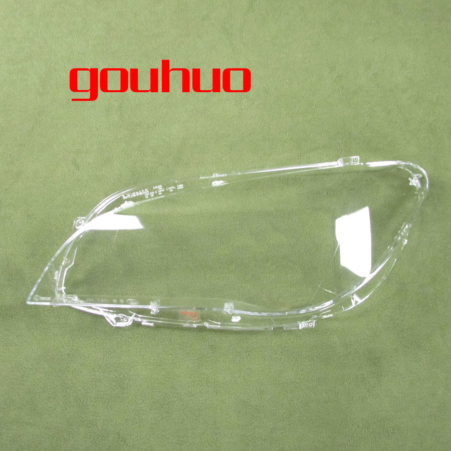 2PCS for BMW 7 Series 09 15 F02 F01 730 735 740 745Headlamp Shade Headlamp Transparent Head lamp Shade Cover lens Shell-in Shell from Automobiles & Motorcycles