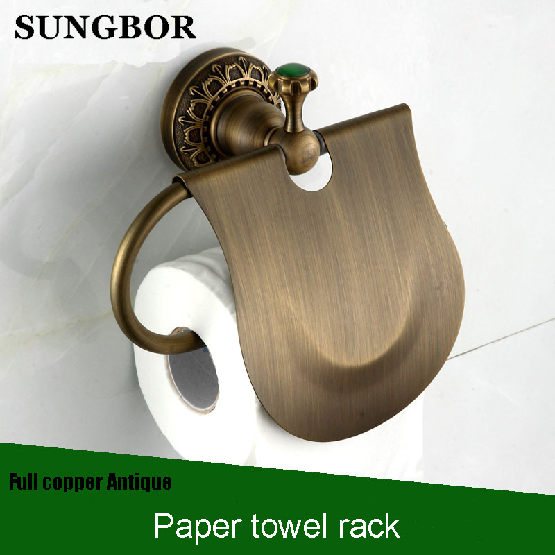 Mobile phones towel rack toilet paper holder tissue boxes Antique brass bathroom paper phone holder with shelf bathroom BL-8308F flg oil rubbed bathroom paper phone holder with shelf bathroom mobile phones towel rack toilet paper holder tissue boxes g506