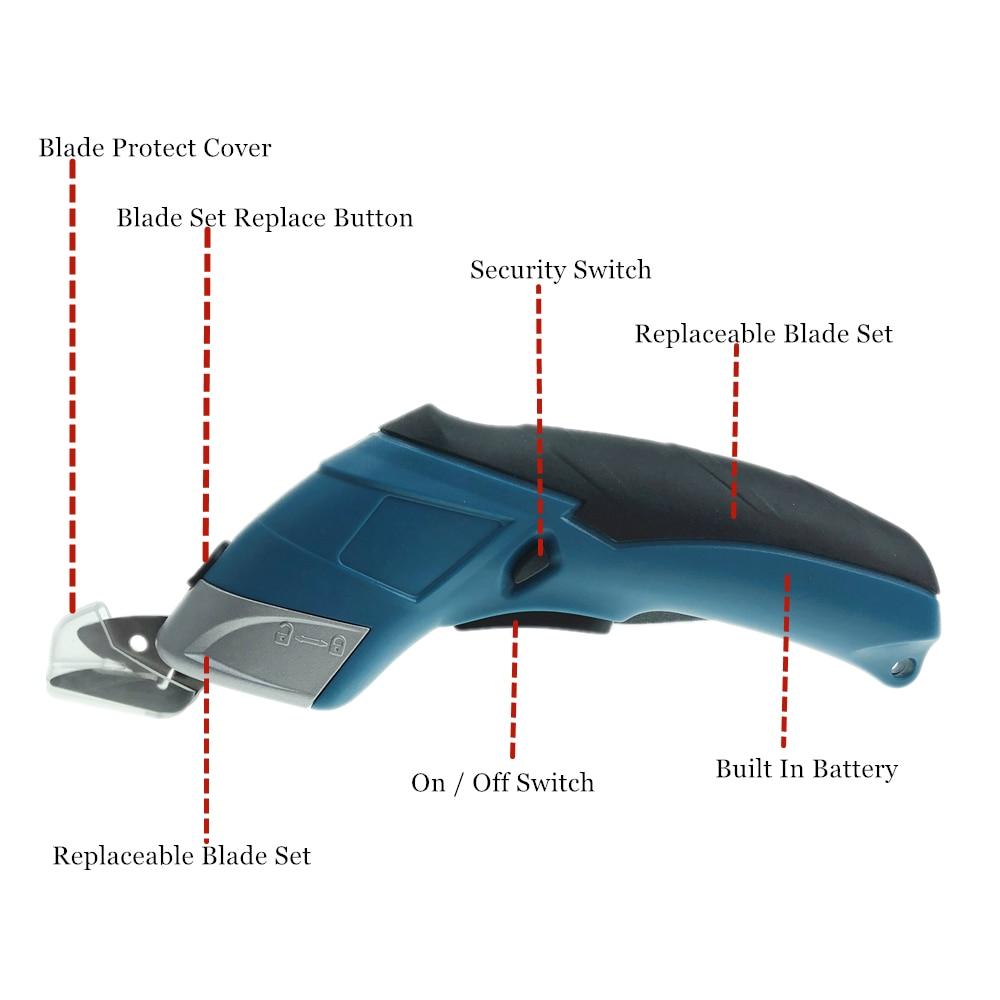 Akumulatorowe nożyczki 3,6 V Mini wielofunkcyjny akumulator litowy - Elektronarzędzia - Zdjęcie 2