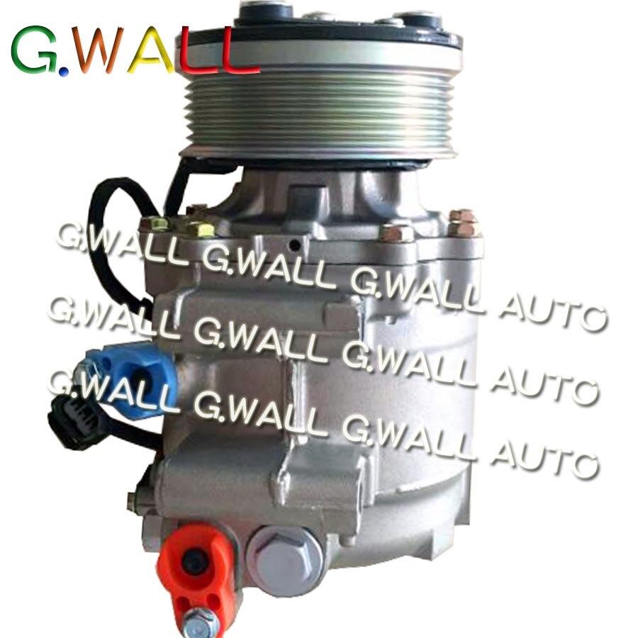 Pour Honda pour voiture CRV 2.0 CR V 2.0 voiture Auto A/C AC compresseur pompe avec embrayage ensemble entier pièces de réparation