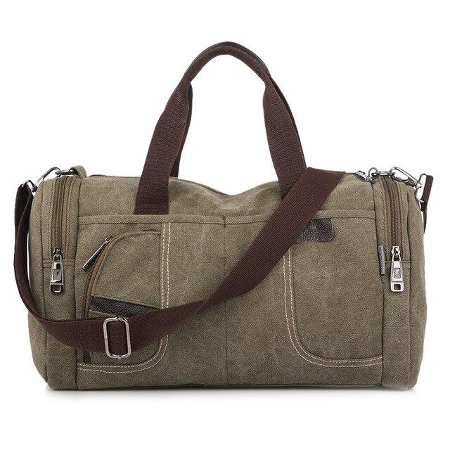 Новинка стильные мультифункциональные холстяные мужские сумки для путешествий, сумка на плечо для женщин, ручная сумка