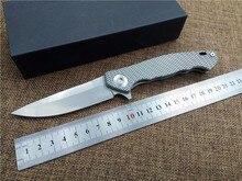 Новый тактический складной нож D2 стеклоочистителя titanium ручка отдых на природе охота выживание подарочные карманный нож роликовый подшипник флиппер ручной инструмент