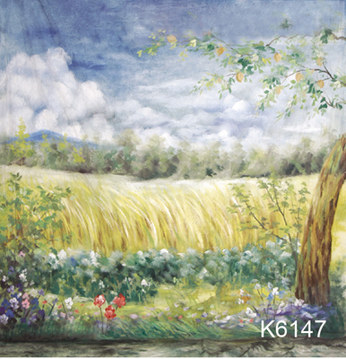 10x20ft Hand painted Muslin natural scenic photo backdrops backgroud,flower camera wedding photography,custom service K614710x20ft Hand painted Muslin natural scenic photo backdrops backgroud,flower camera wedding photography,custom service K6147