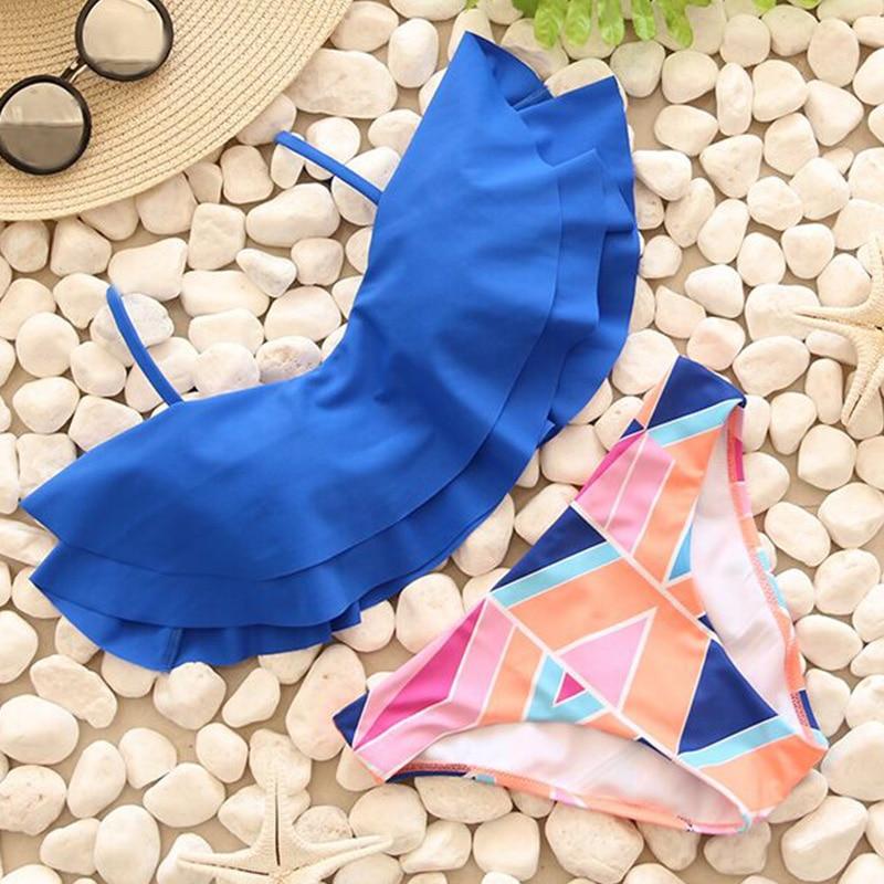 Bikinis Women Swimsuit Push Up Swimwear Women 2017 New Sexy Bandeau Print Brazilian Bikini Set Beach Wear Bathing Suits Biquini