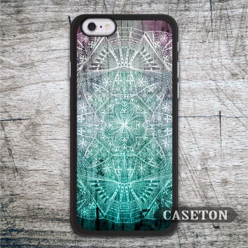 Abstract Green Floral Pattern Case For iPhone 7 6 6s Plus 5 5s SE 5c and For iPod 5 High Quality Phone Cover Free Shipping