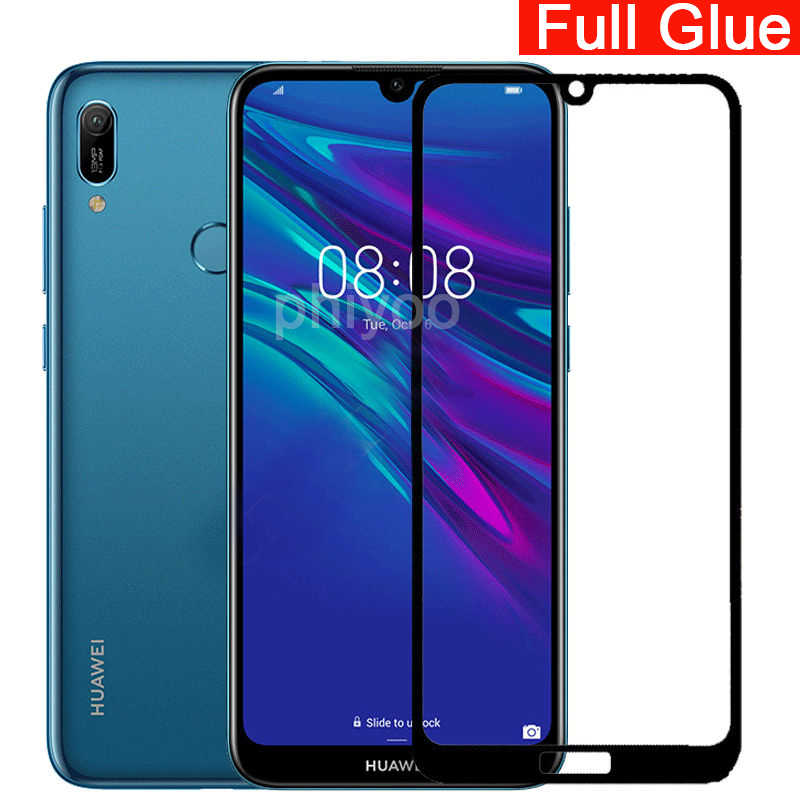 5d full glue tempered glass for Huawei Y6 2019 full cover screen protecter For Huawei Y 6 Y62019 Glass safety phone 6.09 inch 9h