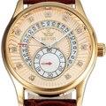 Sewor marca de luxo homens relógio mecânico auto-vento automático relógio 2016 moda relogio automatico masculino presente para homens swq24