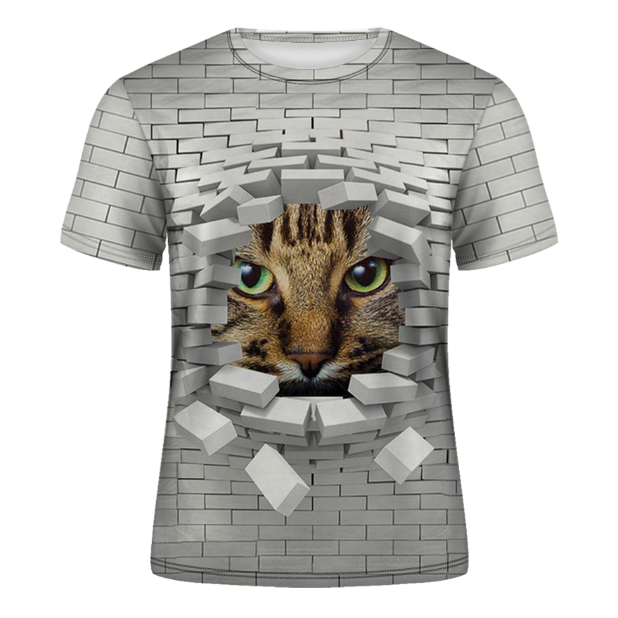 DE013-T恤短袖模版-前