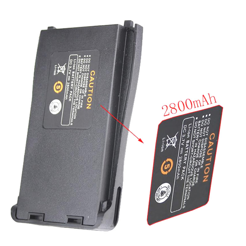 US $14 99  2pcs DC 3 7V 2800mAh Li ion Radio Battery For Retevis H777  Baofeng BF 777S BF 888S BF 666S-in Rechargeable Batteries from Consumer