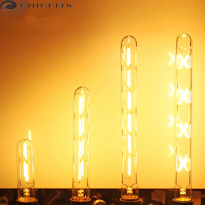 все цены на Bombillas Led Lamp 300mm Led Tube Bulb E27 220V Vintage Edison Filament Light Bulb Christmas Decor for Home Energy Saving Lamp