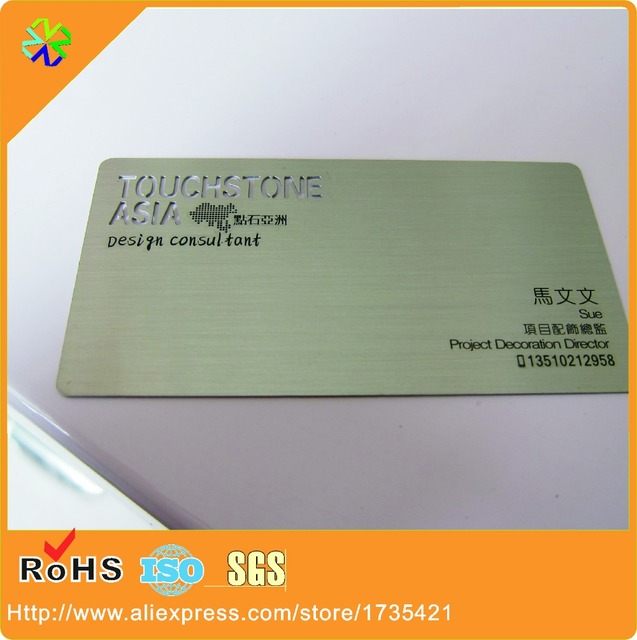 100pcslotfree design metal business card world2018 new product 100pcslotfree design metal business card world2018 new product steel reheart Choice Image