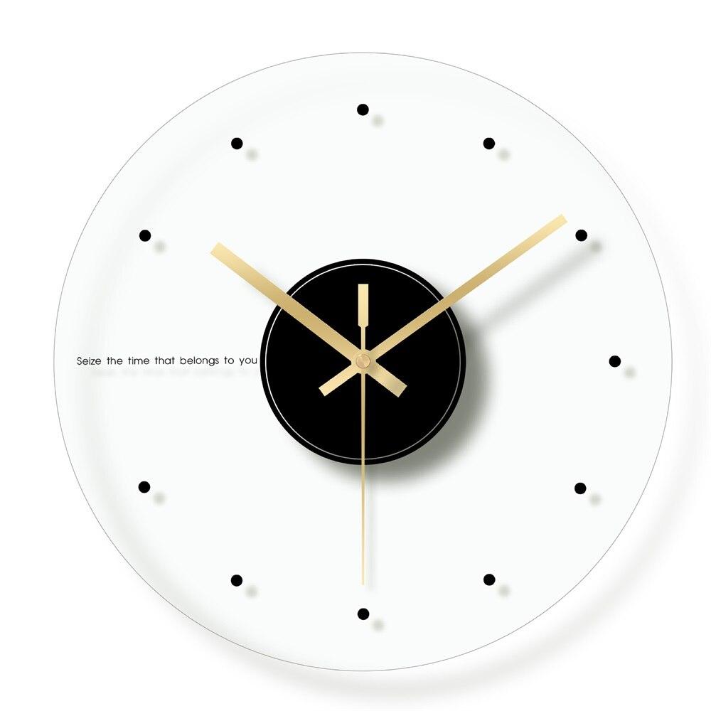 Настенные часы с римским номером, современный дизайн, стеклянные цифровые часы для кухни
