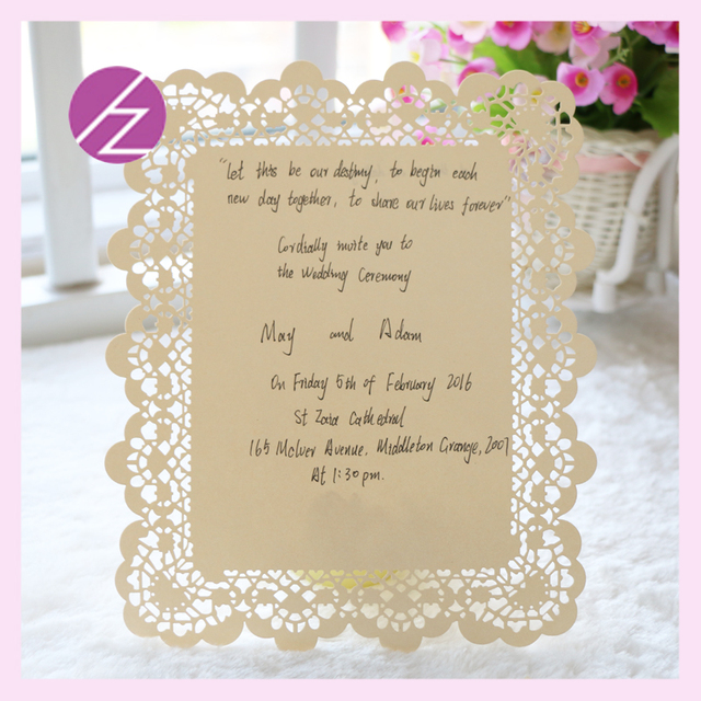 Flower Embossed Invitations Cards New Elegant With Words On Anese Acrylic Wedding Invitation Card Laser