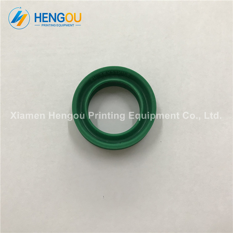 10 Pieces free shipping Import Heidelberg Combined pressure cylinder seal, heidelberg machine seal 25*35*11.2