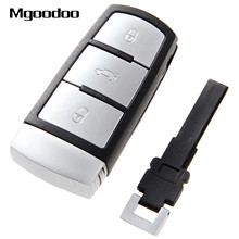 Mgoodoo 3 Buttons Smart Remote Key Fob Case For VW Volkswagen Passat CC Auto Replacement Shell Car Covers 2005-2010
