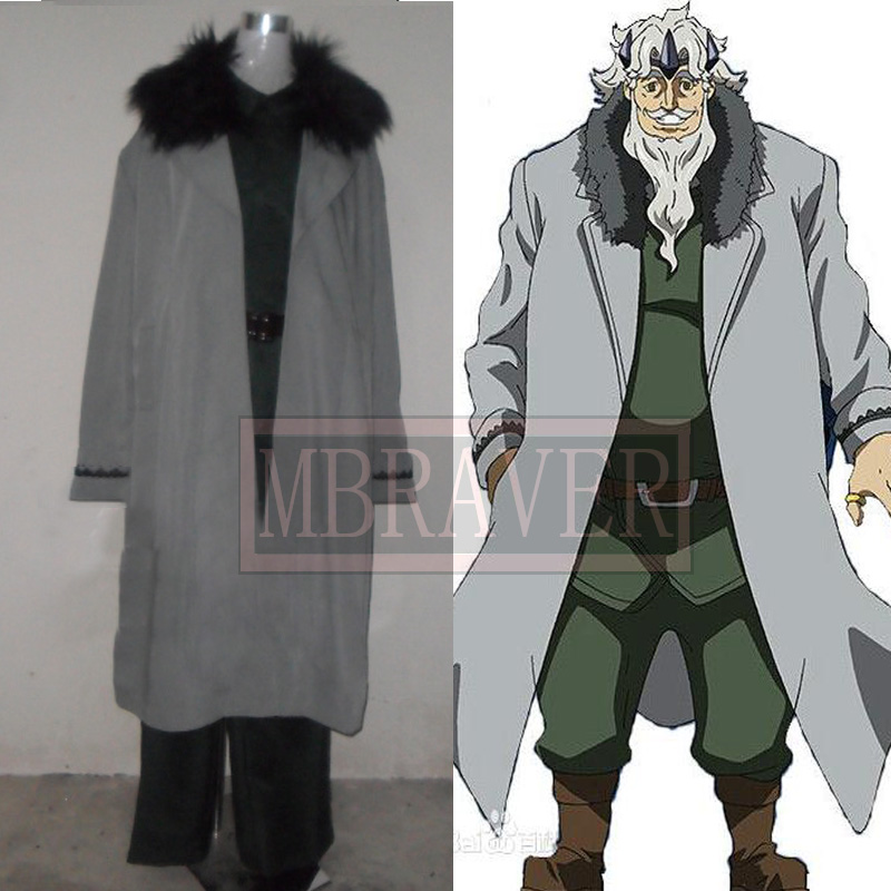 Akame ga Kill! Prime Minister Honest Cosplay Costume