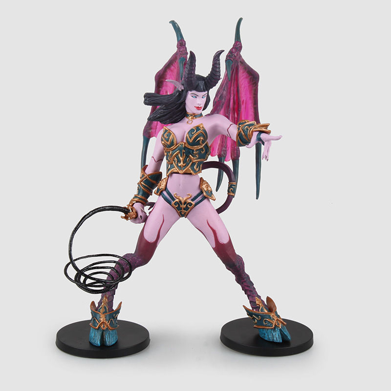 World of WOW Succubus Demon Amberlash Action Figure Model Statue Toy