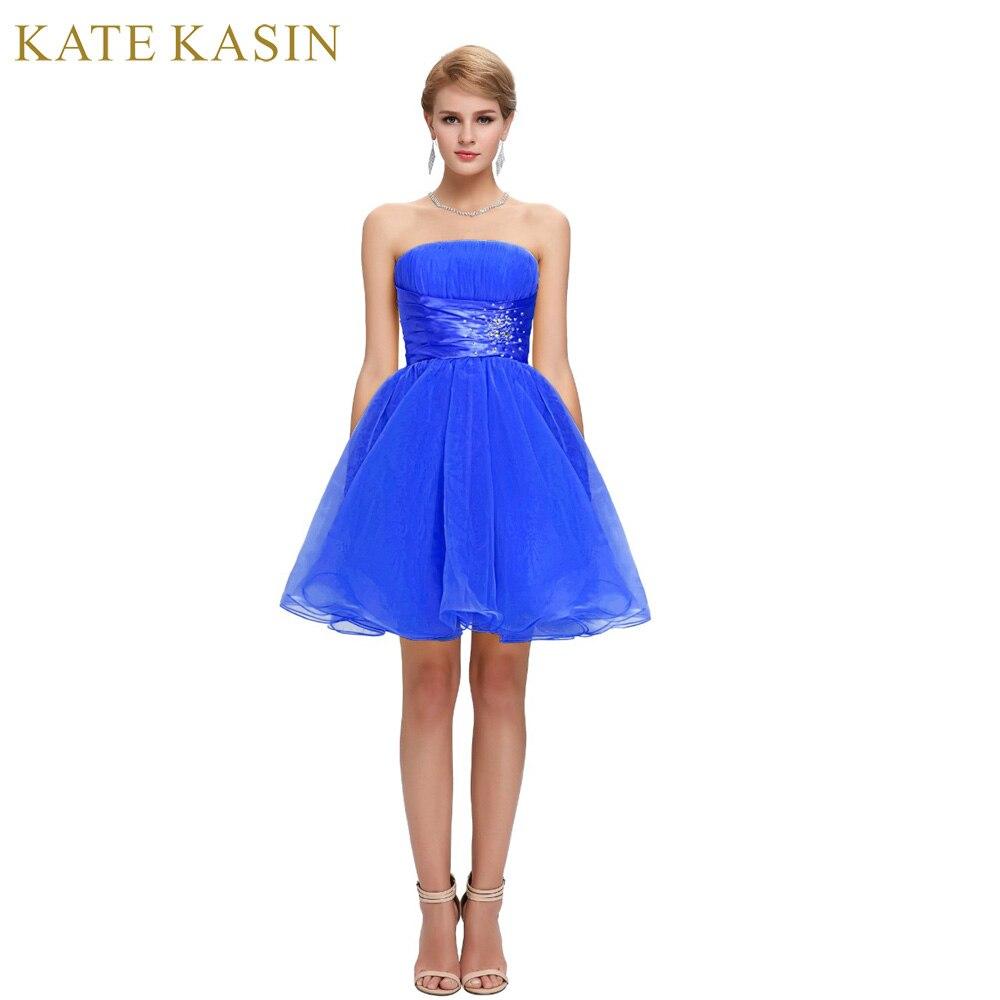 Luxury Backless Robe de Cocktail Dresses 2018 Grace Karin Short ...