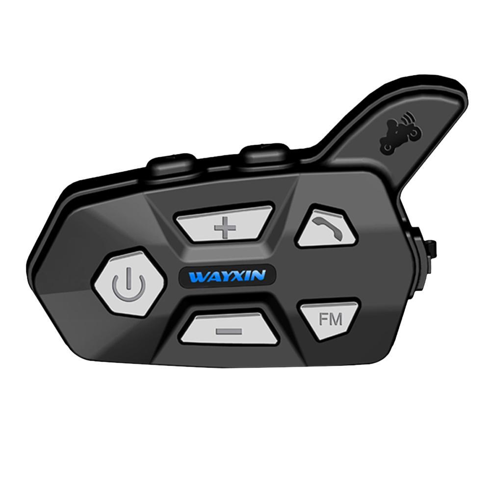 Motorcycle Helmet Headsets Bluetooth 2 Riders Intercom for Motorcycle R5 Motorcycle FM Bt Wireless Intercomunicador Interphone