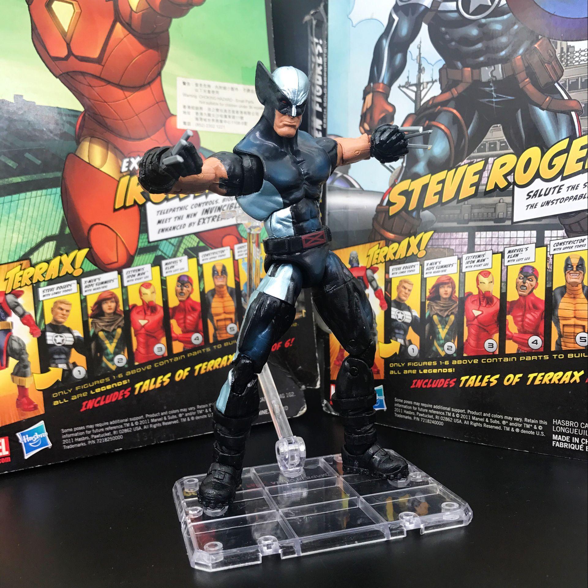 Marvel Super Hero Squad  Loose Figure wolverine 6