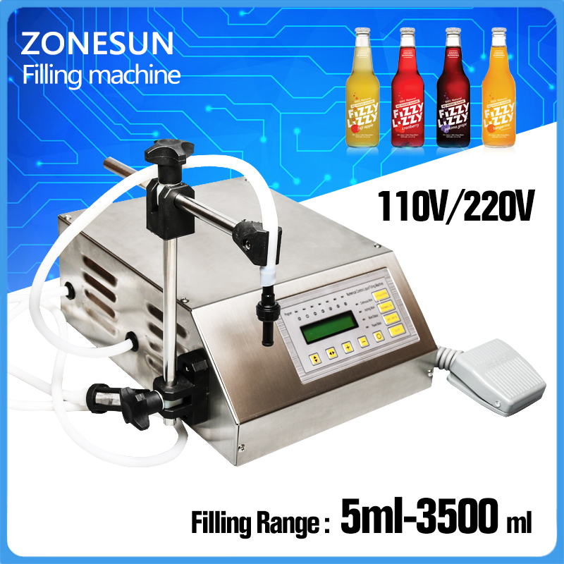 YASON--5ml to unlimited Magnetic Pump Micro-computer Liquid Filling Machine