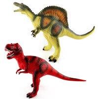 Giant Dinosaur Model Wadding Tyrannosaurus PVC Toy Figure Simulation Spinosaurus Sounding Model Doll