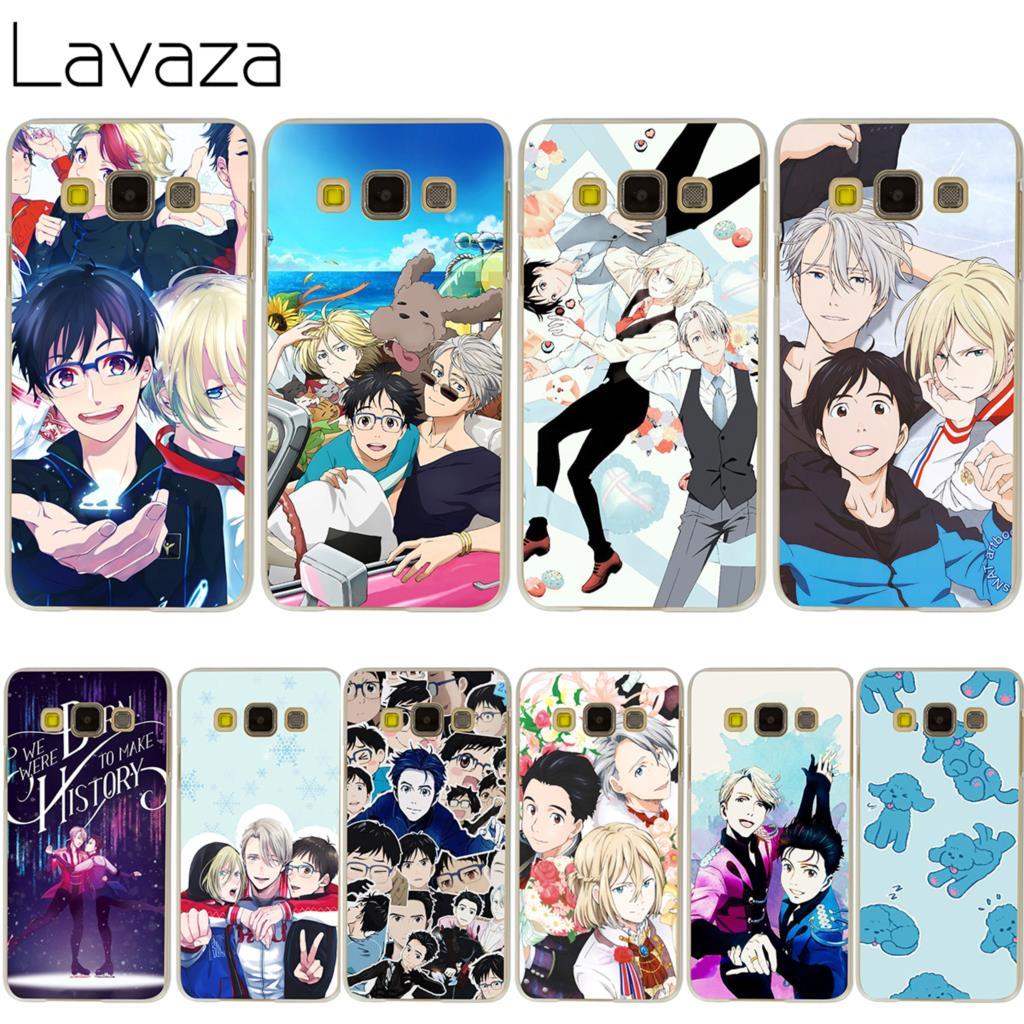 Lavaza Yuri On Ice Case for Samsung Galaxy A3 A5 A7 A8 2018 2017 2016 2015 Plus Note 2 3 4 5 8 Grand 2 Prime