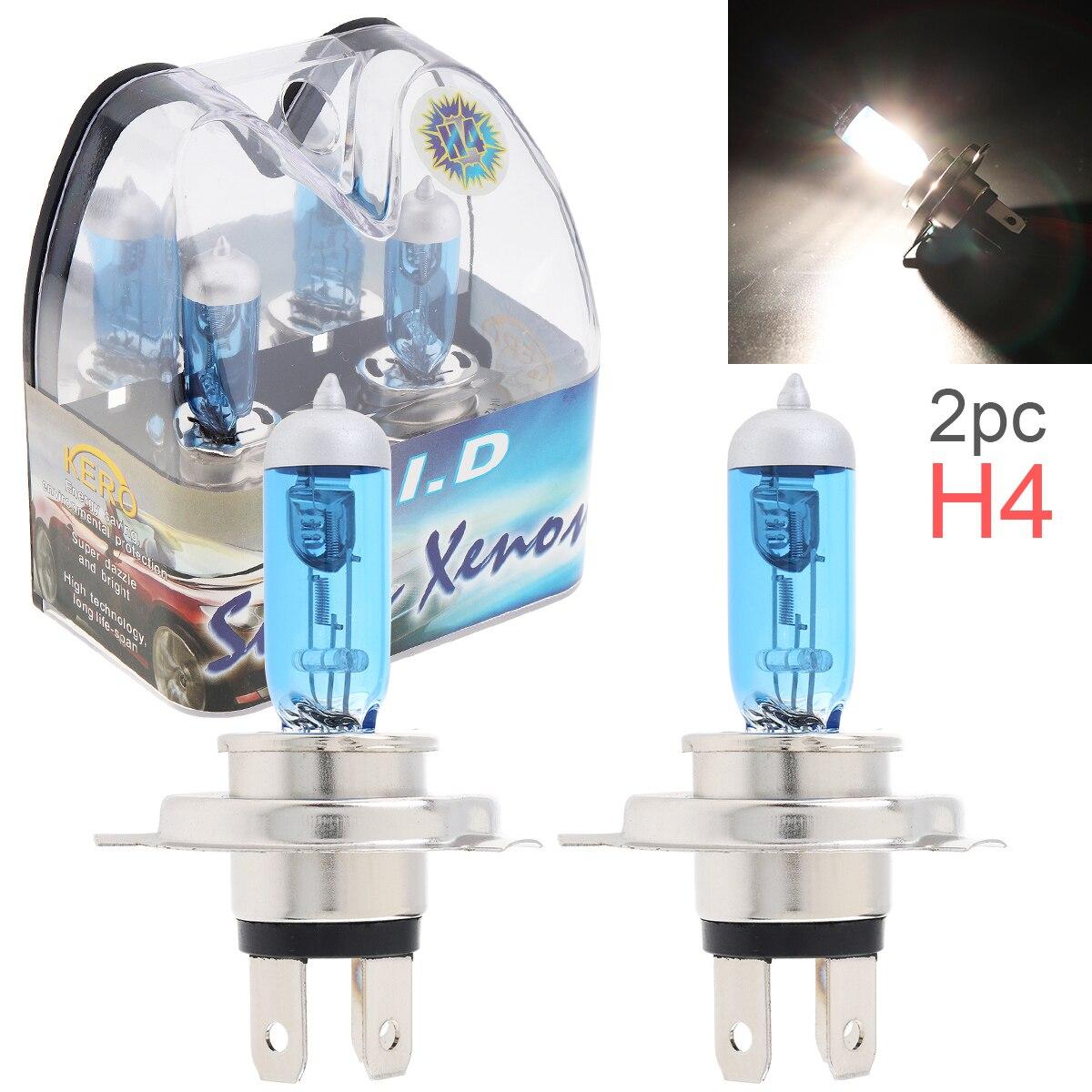 VW Bora 1J2 H4 501 100w Super White Xenon HID High//Low//LED Side Headlight Bulbs