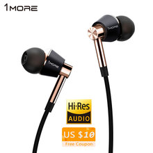 xiaomi 1MORE E1001 triple Driver headphone Dynamic Hybrid Unit earhud HIFI stereo sound monitor earphone for iphone 6 6s 7 7plus
