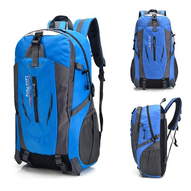 Sac à dos mode étudiant sacs décole en nylon étanche alpinisme sacs sacs à dos pochette dordinateur haute capacité sac de voyage décontracté
