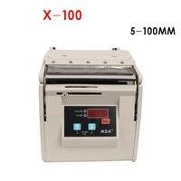 Máquina de código de barras etiqueta descascar stripper X-100 5 rótulo separador de banda larga-100mm Aplicável das etiquetas das etiquetas de código de barras