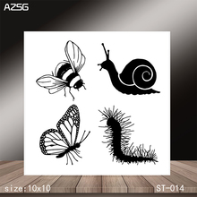 AZSG Nasty insect Clear Stamps/Stamp/For Scrapooking/Card Making/Silicone Stamps/Decoration  Crafts